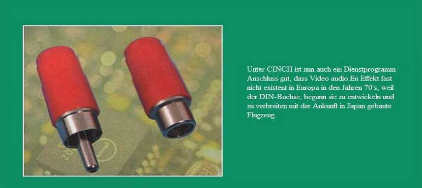 CONNECTORS CHINCH
