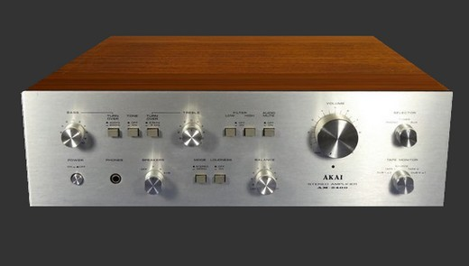 Amplifier AKAI AM 2400