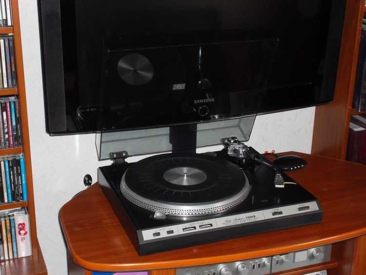 Gire los discos Fisher MT 6330