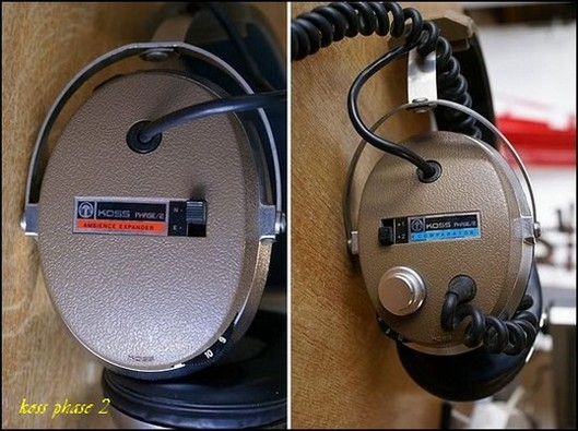 HEADPHONE VINTAGE KOSS PHASE 2