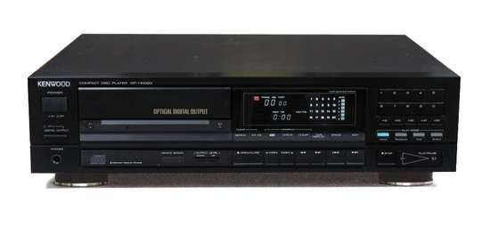 CD Player Vintage Kenwood DP 1100SG