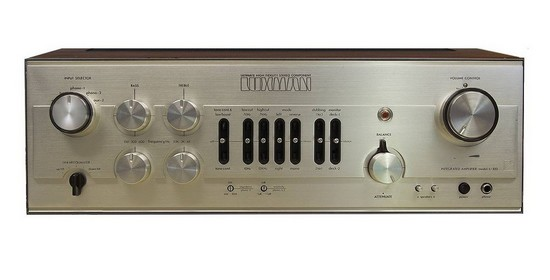 AMPLIFIER LUXMAN L81