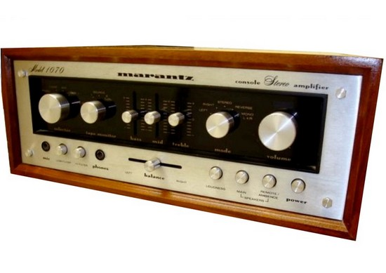 hi-fi amplifier marantz 1070