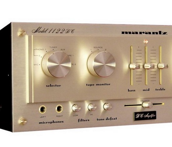 Marantz 1122 DC amplifier