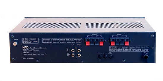 POWER STEREO AMPLIFIER NAD 2140