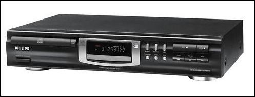 Reproductores de CD PHILIPS CD 723