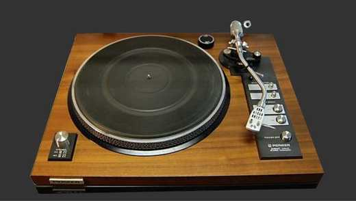 vintage turntable pioneer pl 71 pioneer pl 71 on. Black Bedroom Furniture Sets. Home Design Ideas