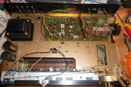 Audio Equalizer With Transistors Bf245 Bc109 Everyday Electronics