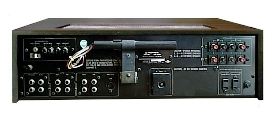 Pioneer SX-636 Receiver Owners Manual