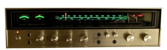 Vintage Amplifier Sansui 5500