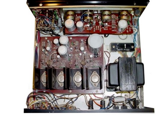 Vintage Stereo Stereo Amplifier Sansui Au 222 A Stereo