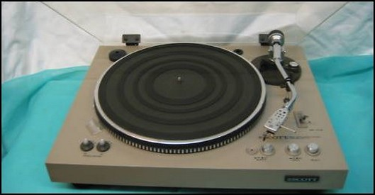 PLATINE VINYLE SCOTT PS 77 XV