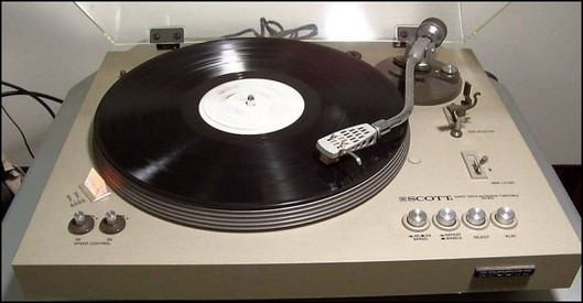 PLATINE VINYLE SCOTT PS 87