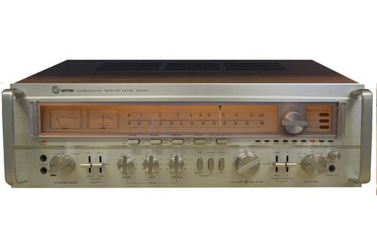 RECEIVER SETTON RS 660