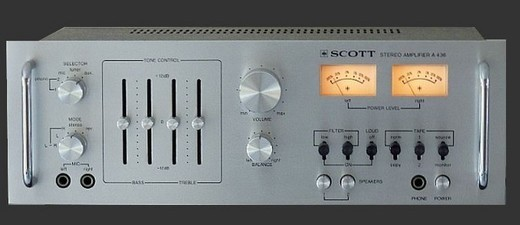 Amplificateur Scott A436