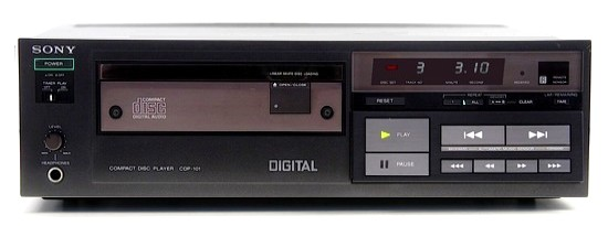 CD Player Vintage SONY CDP 101