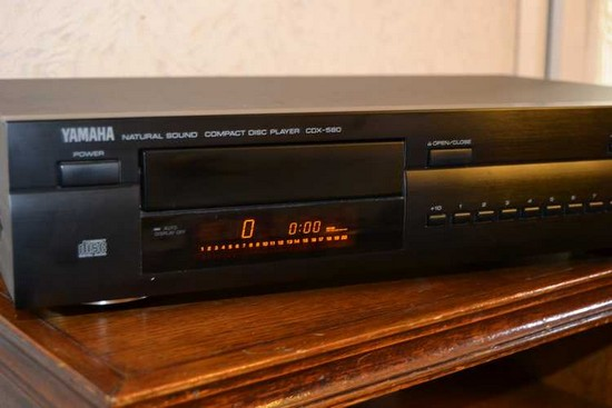 CD Player Vintage YAMAHA CDX 580