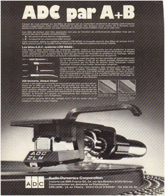 Advertisements from the hifi,Adc