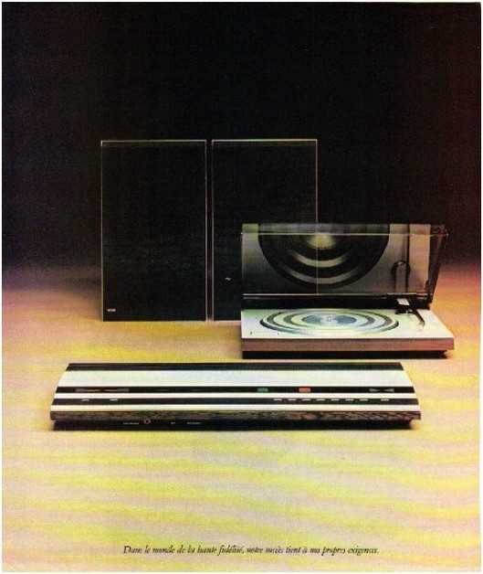 the golden age of high fidelity ,Bang olufsen