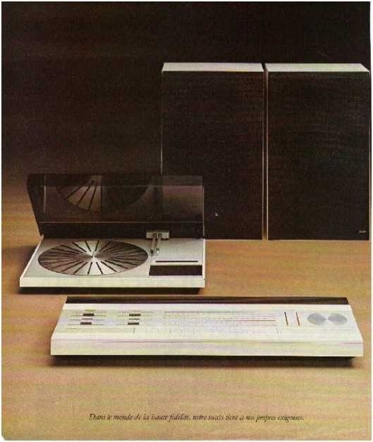 the golden age of high fidelity,Bang olufsen