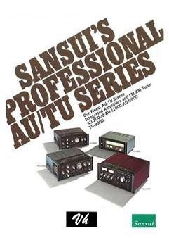 BROCHURE OF SANSUI AU 20000