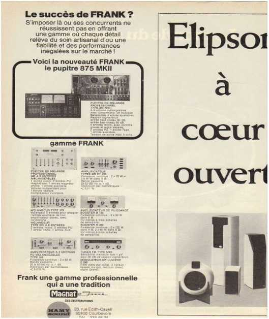 Advertisements from the hifi,Elipson