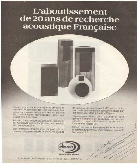 The ads of 1979,Elipson