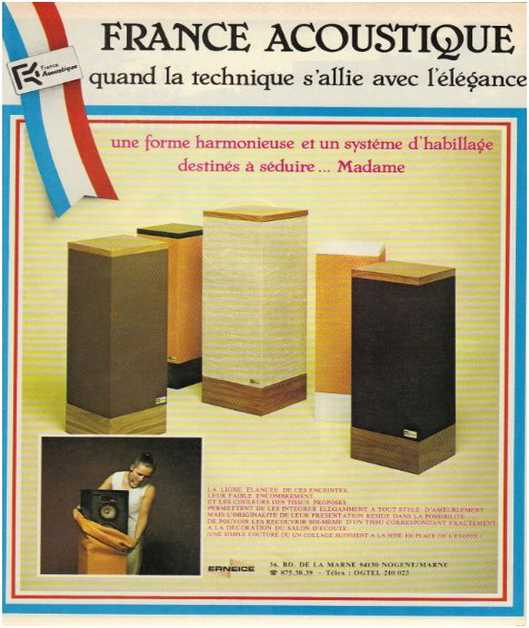 Advertisements from the hifi,France Acoustique