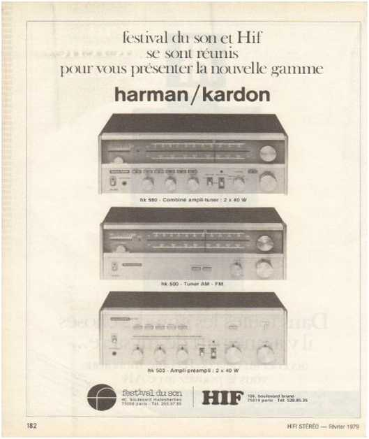 The ads of 1979,Harman Kardon