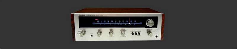 Pioneer SX 424 Receiver