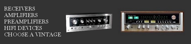 Receivers, Amplifiers, Power Amplifiers, Preamplifiers, Hifi Devices,