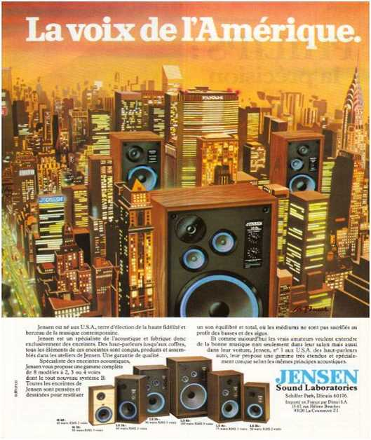 The ads of 1979, Jensen