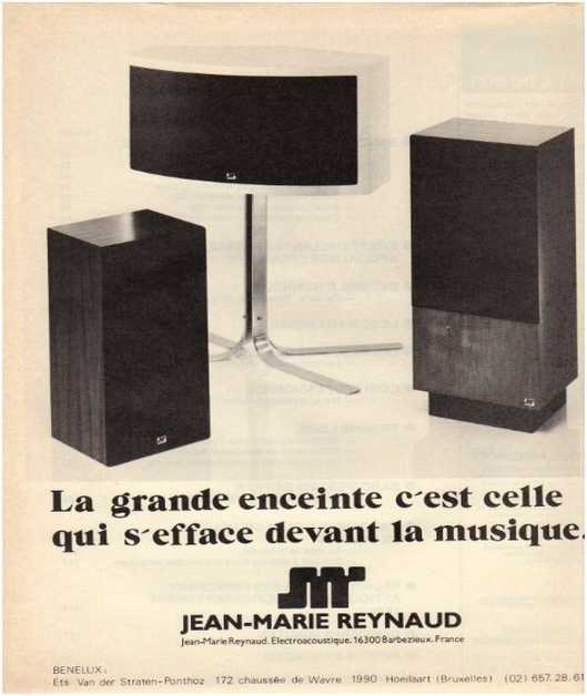 Advertisements from the hifi Jmr
