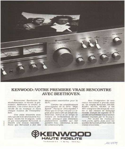 The ads of 1979,Kenwood