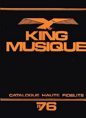 catalogue king musique