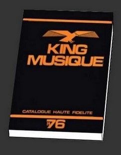 king musique, le catalogue