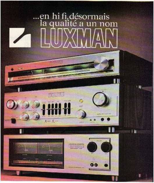 the golden age of high fidelity,Luxman