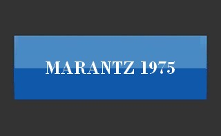 MARANTZ - Discover a range hifi American vintage, and quadraphonic stereo: amplifiers, power amplifiers, integrated tuners, occilloscope tuners, receivers.