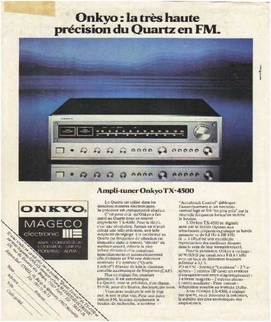the golden age of high fidelity,Onkyo