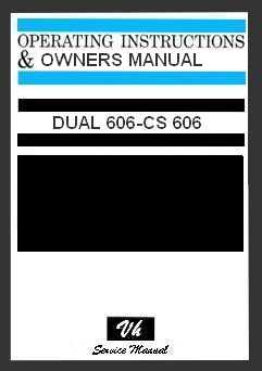 DUAL MANUAL DEL USUARIO 606