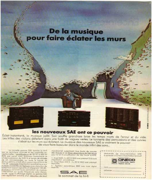Advertisements from the hifi,Sae