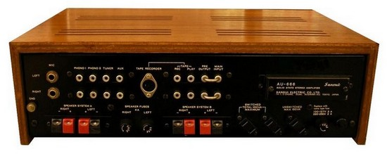 AMPLIFIER SANSUI AU 666