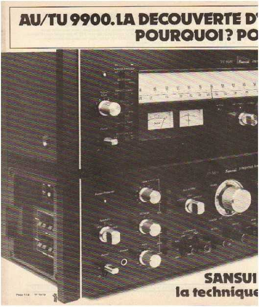 the golden age of high fidelity,Sansui