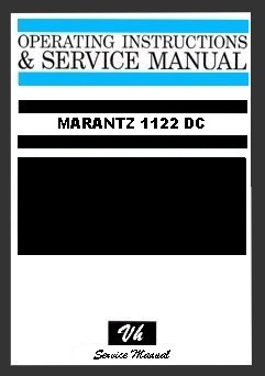 SERVICE MANUAL OF MARANTZ 1122 DC
