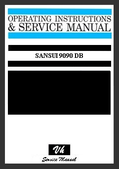 MANUAL DE SERVICIO SANSUI 9090 DB
