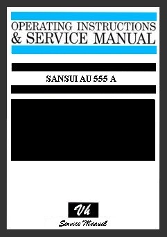 SERVICE MANUAL OF SANSUI 555 A