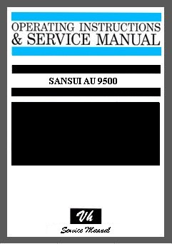 SERVICE MANUAL OF SANSUI AU 9500