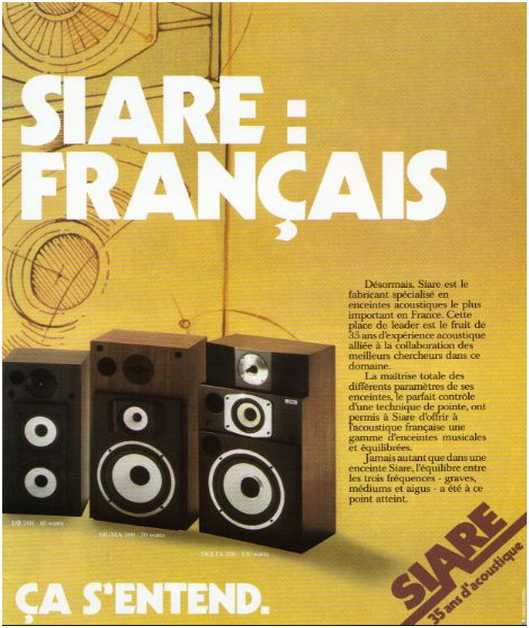 The ads of 1979,Siare